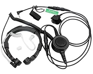 Amazon.com: SUNDELY® Military Grade Tactical Throat Mic