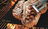 Set of 2 BBQ Grill Mats - Best Barbecue Tool on the Market - Great Gift for Fathers Day- Make Grilling Easier - Grill without a Spill - Non Stick - Easy to Wash - Lasts for Years - Extremely Durable - Made of PTFE (PFOA free) 100% Non-stick and Reusable - Dishwasher safe - Money Back Guarantee!