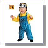 Despicable Me 2 Minion Dave Costume, Toddler 1-2