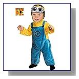 Despicable Me 2 Minion Dave Costume, Toddler 1-2