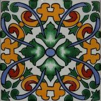 6x6 4 pcs Becedas Talavera Mexican Tile ~ Decorative Tiles ...