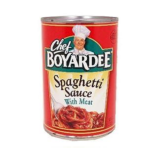 12 cans of Chef Boyardee Spaghetti Sauce 15 oz Hard 2 Find