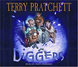 """Cover of """"Diggers (The Bromeliad Trilogy)..."""