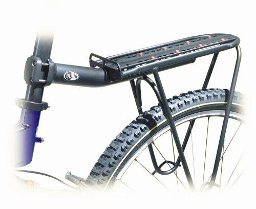bike rack reviews delta mega rack post porter seat post rack with pannier support