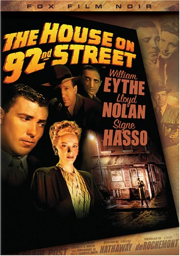 "Cover of ""The House on 92nd Street (Fox F..."