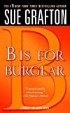 """B"" is for Burglar (Kinsey Millhone Book 2)"