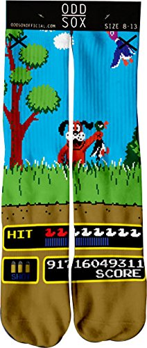 Odd Sox Duck Season Retro Socks
