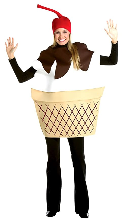 Ice Cream Sundae Adult Costume - Adult Std.