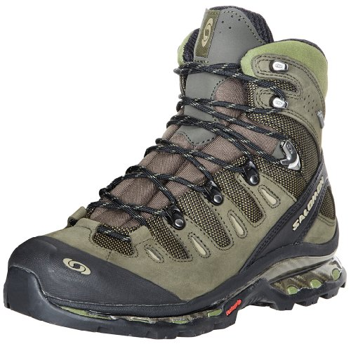 Salomon Men's Quest 4D GTX Backpacking Boot,OliveDark Olive