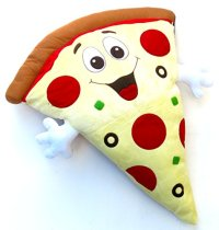 Home decor , pillow, pizza, 2' x 3' Giant Size Pizza ...