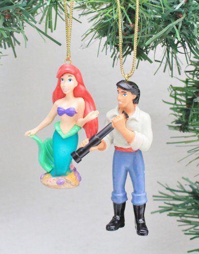 Disney's 'Ariel with Eric' Ornament Set