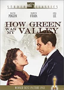 "Cover of ""How Green Was My Valley"""