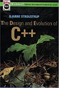 "Cover of ""The Design and Evolution of C++..."