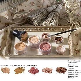 Colorevolution 100% Pure Mineral Makeup Medium to Dark Skin Tones