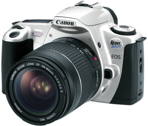 Canon EOS Rebel 2000 35mm Film SLR Camera Kit with 28-80mm Lens