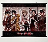 Wall Scroll Poster Fabric Painting For Anime Bungo Stray Dogs Key Roles