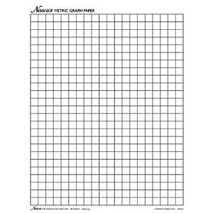 Amazon.com: Nasco TB25325T Graph Paper, 1cm Squares, 11 x