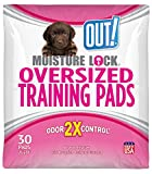OUT! PetCare Moisture Lock 30-Pack Dog Pads, X-Large