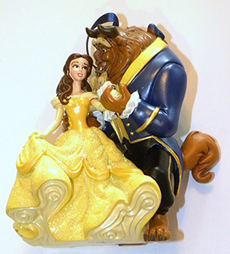 Beauty and the beast christmas ornaments tree