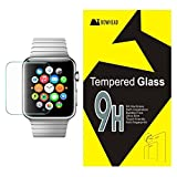 Apple Watch Screen Protector, Bowhead Apple Watch Glass Screen Protector (For 42MM Only)- [Tempered Glass] 9H Hardness, Bubble Free