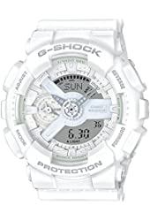 Amazon.com: Casio Men's GA110C-7ACR G-Shock Large White
