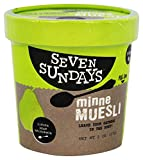 Seven Sundays Ginger Pear Macadamia Muesli Cup, 2 Ounce (Pack of 6)