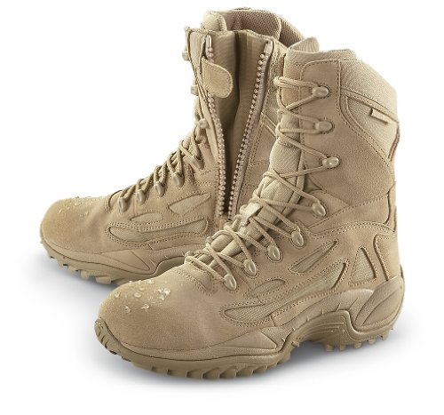 Men's Converse Waterproof Side - zip Desert Tactical Boots Desert Tan, DESERT TAN, 9.5M