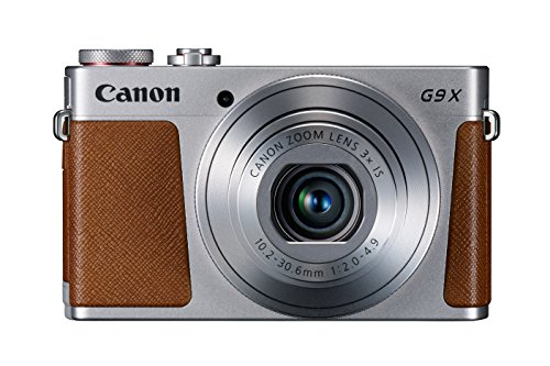 Canon PowerShot G9 X Digital Camera with 3x Optical Zoom, Built-in Wi-Fi and 3 inch LCD (Silver)