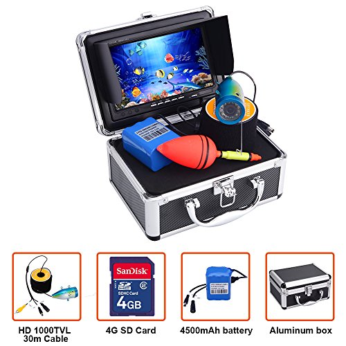 Portable Fish Finder Underwater Fishing Camera System