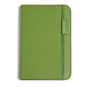 "Kindle Leather Cover, Apple Green, Updated Design (Fits 6"" Display, Latest Generation Kindle)"