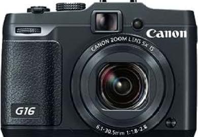 Amazon Com Canon Powershot G16 12 1 Mp Cmos Digital