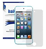 Halo Screen Protector Film Clear Matte (Anti-Glare) for Apple iPod Touch 5 5G 5th Generation (3-Pack) with Lifetime Replacement Warranty