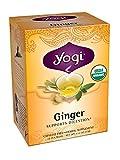 Yogi Ginger Tea, 16 Tea Bags (Pack of 6)