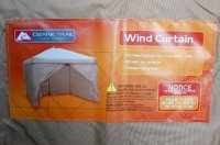 Ozark Trail Wind Curtain For 10 X10 Straight Leg Canopy ...