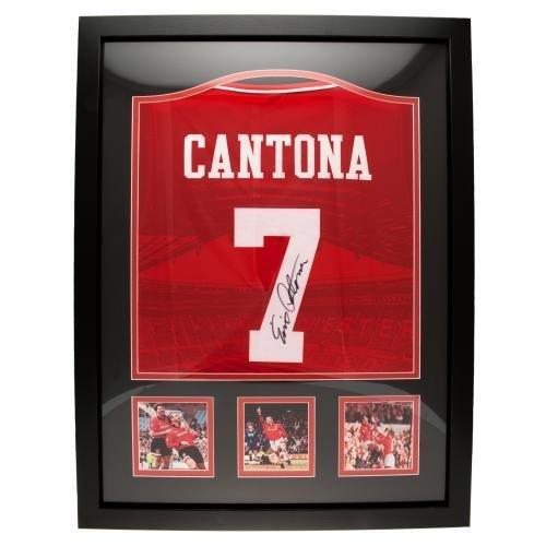 Ce maillot de manchester united a été signé par eric cantona le 8 avril 2021 à martigues, en france. Maillot Manchester United Eric Cantona Collector Certifié ...