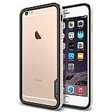 iPhone 6 Plus ケース, Spigen® [ リアル アルミニウム バンパー] ネオ・ハイブリッドEX メタル Apple iPhone (5.5) アイフォン 6 プラス カバー (国内正規品) (シャンパン・ゴールド 【SGP11192】)