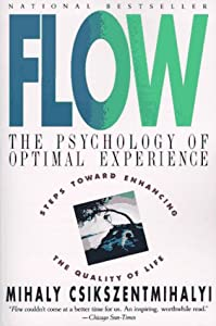 """Flow: The Psychology of Optimal Experience""-Cover"