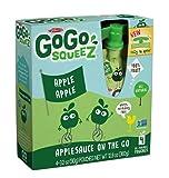 GoGo squeeZ Applesauce On The Go - Apple Apple - 3.2oz, 4 pk