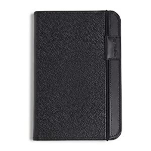 "Kindle Leather Cover, Black, Updated Design (Fits 6"" Display, Latest Generation Kindle)"