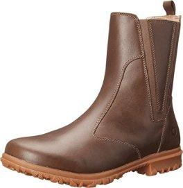 Bogs Women's Pearl Slip On Waterproof Leather Shoe,Chocolate,7 M US