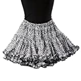Hell Bunny Mini-Rock LEO TUTU grey
