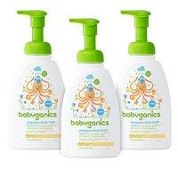 Babo Botanicals Moisturizing Baby Shampoo and Wash Oatmilk ...