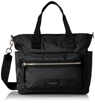 Marc-Jacobs-Nylon-Biker-Baby-Weekender-Bag-Black-One-Size