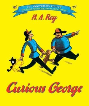 Curious George: 75th Anniversary Edition by H. A. Rey | Featured Book of the Day | wearewordnerds.com