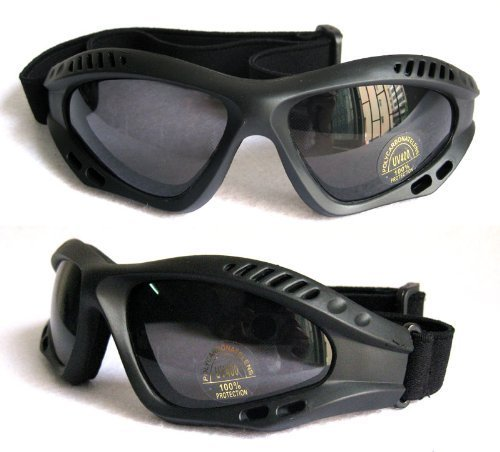 Bencore Black Ventec Tactical Goggle - Life-Time Warranty