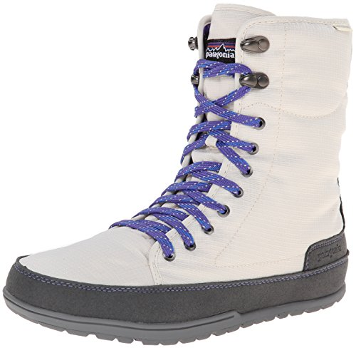 Patagonia Women's Activist Puff High Waterproof Insulated Boot,Natural/Violetti,7 M US
