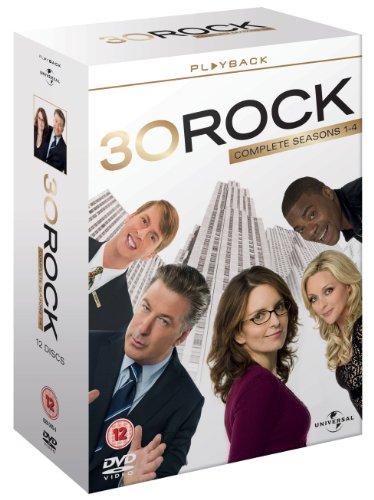 30 Rock - Season 1-4 (2010) Alec Baldwin; Tina Fey