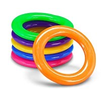 Amazon.com: Plastic Cane Rack Rings Party Supplies (4dz ...