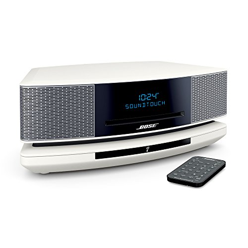 Bose Wave SoundTouch music system IV パーソナルオーディオシステム Bluetooth/Wi-Fi対応 アークティックホワイト WST IV AW【国内正規品】