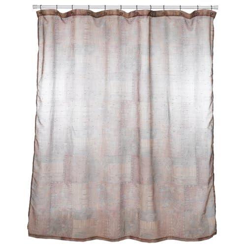 Amazoncom  Croscill Minerale Copper Shower Curtain